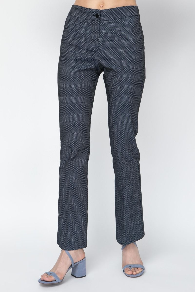Jacquard printed   pants
