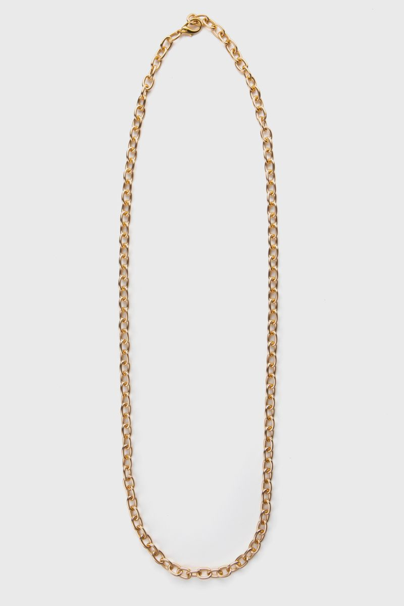 Necklace in gold -tone metal