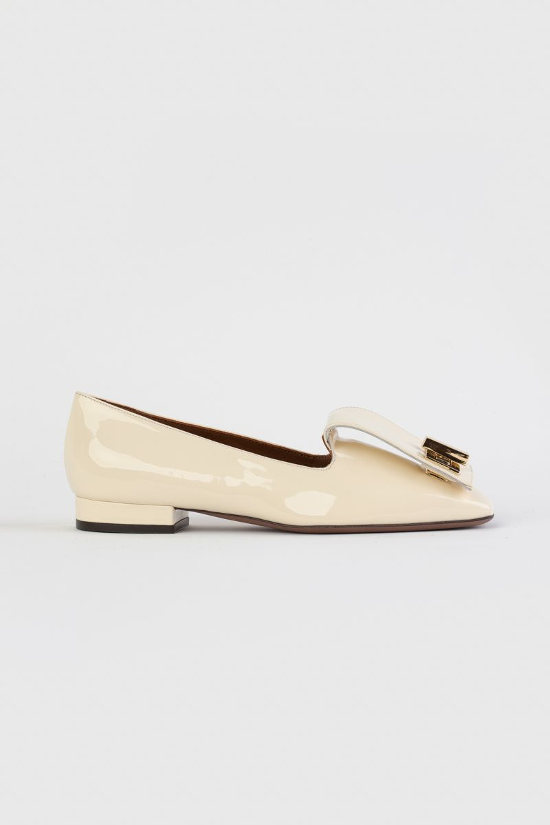 Vernice loafers with golden detail