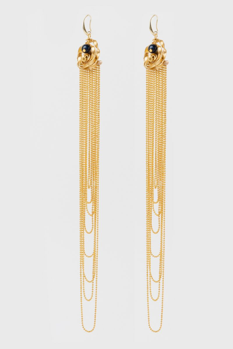 Long chains -earrings