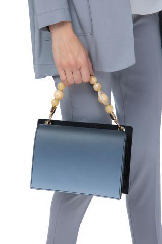 Δερμάτινη  tote τσάντα