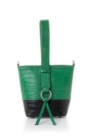 Μικρή bucket τσάντα