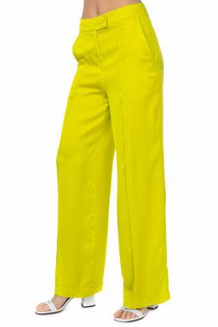 Παντελόνι με ψηλή μέση σε ίσια γραμμή