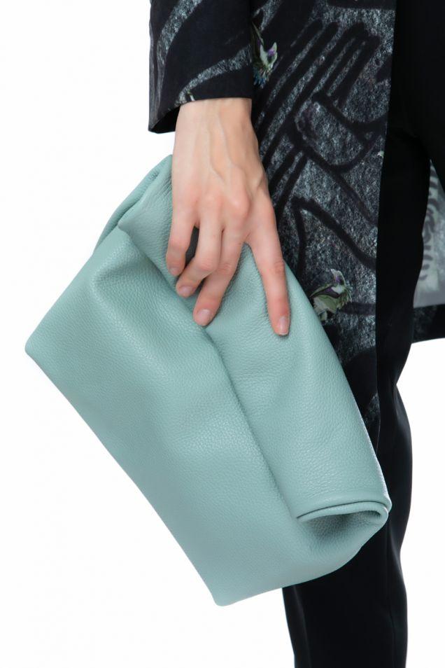 """Δερμάτινο """"lunch"""" bag"""
