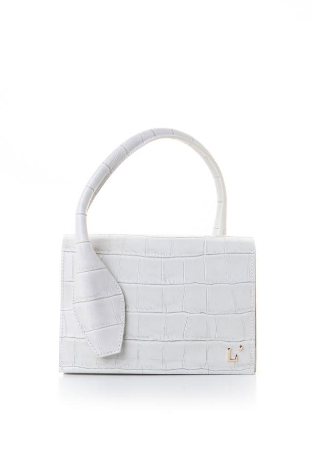Μικρή άσπρη τσάντα