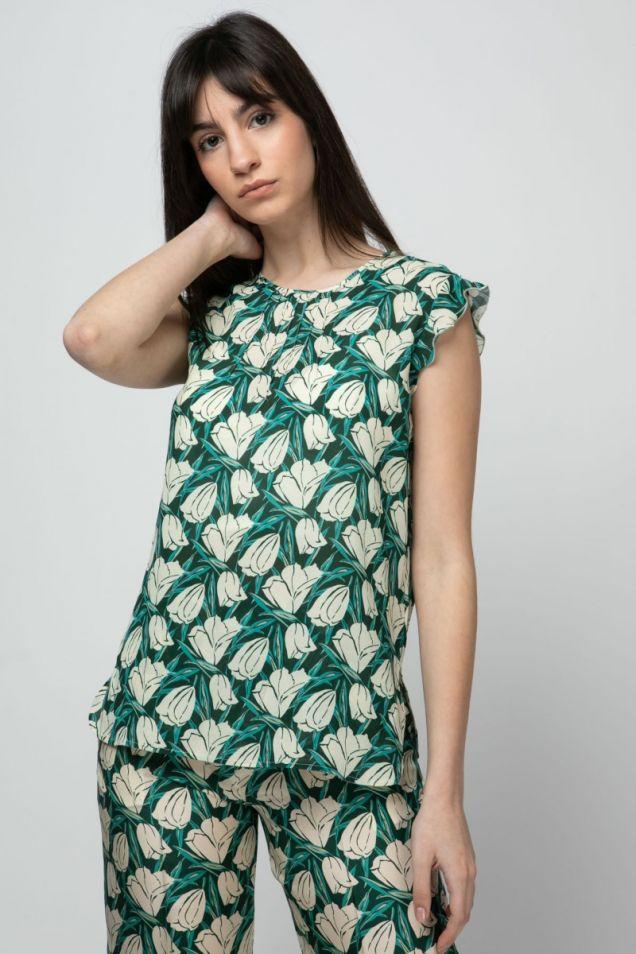 Floral -print  top