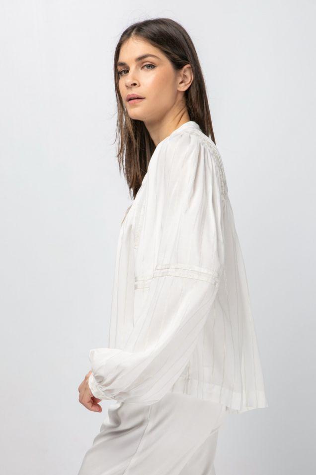 Hippie tiered blouse