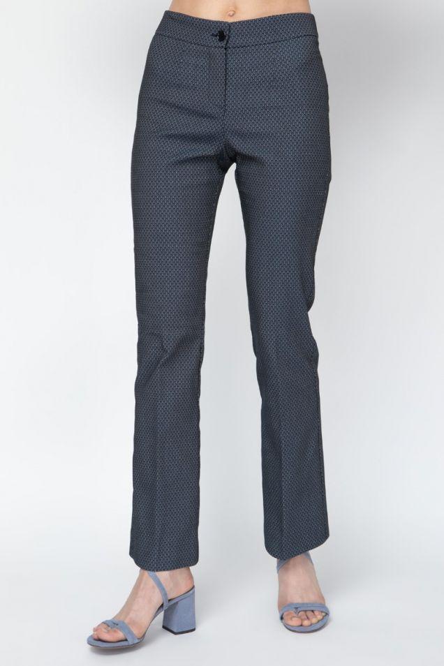 Jacquard printed   pants