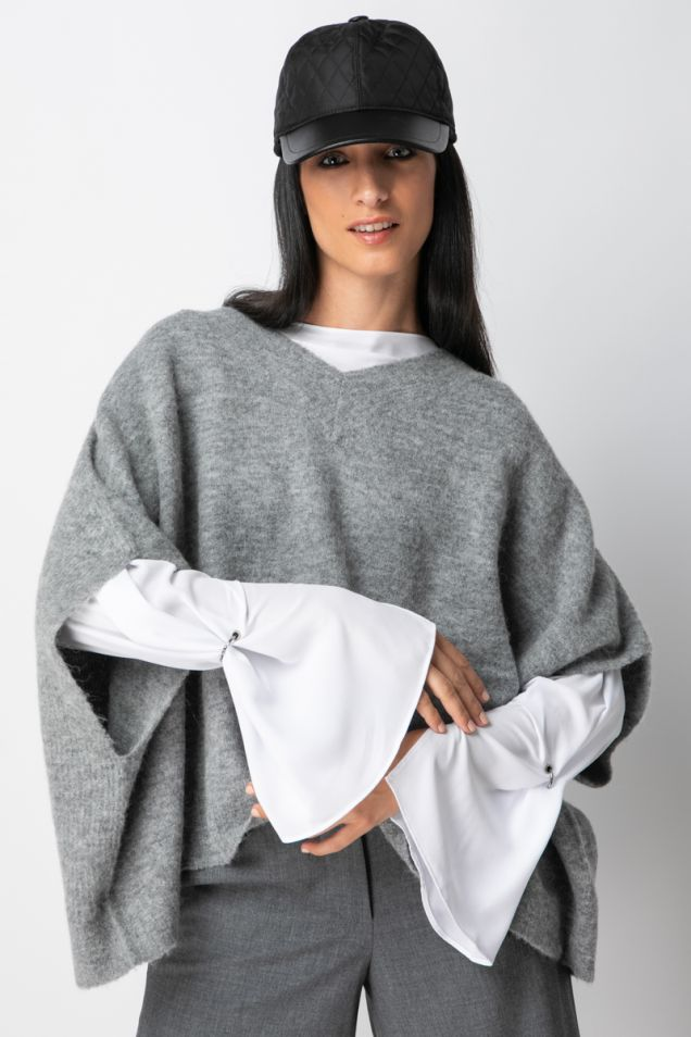 Knitted mohair -blend sweater