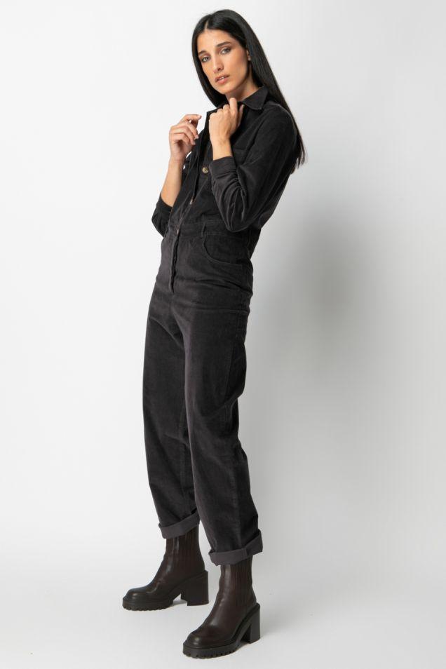 Corduroy jumpsuit