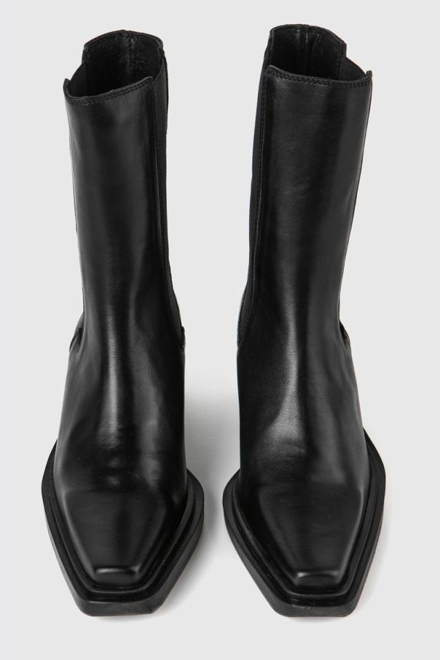 """Leather """"texano"""" boots"""