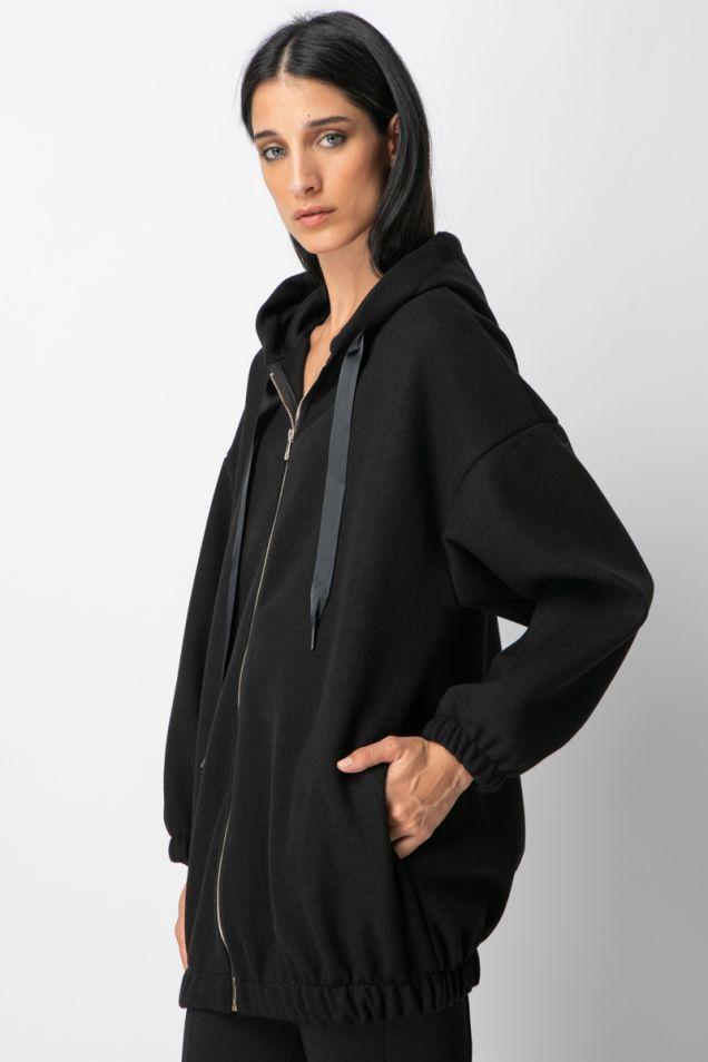 Hoodie oversized jacket