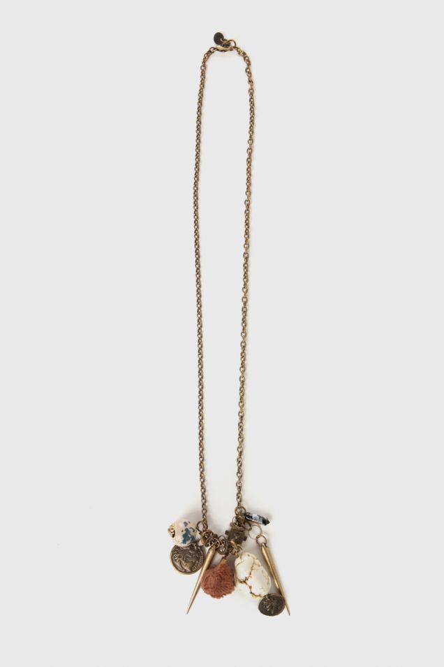Bronze- tone pendant